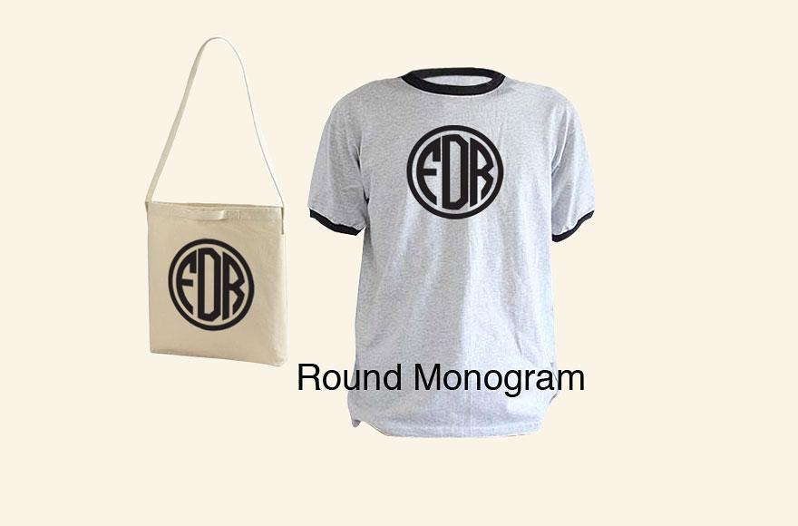 round monogram